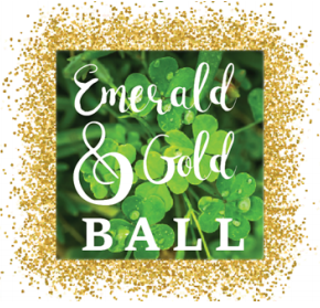 Emerald and Gold Ball image